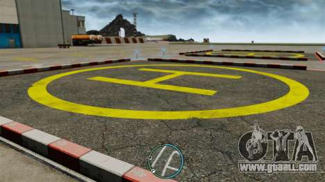 The central location of the radar for GTA 4 second screenshot