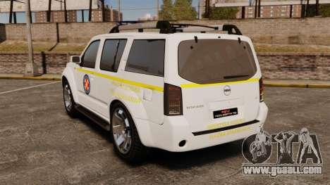 Nissan Pathfinder HGSS [ELS] for GTA 4 back left view