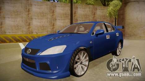 Lexus IS F V1 for GTA San Andreas