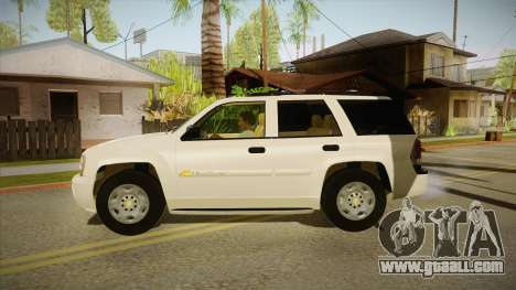 Chevrolet Trail Blazer for GTA San Andreas left view