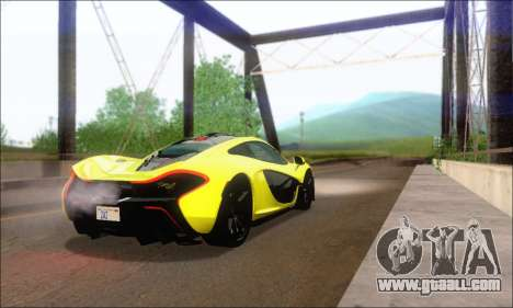 McLaren P1 EPM for GTA San Andreas right view