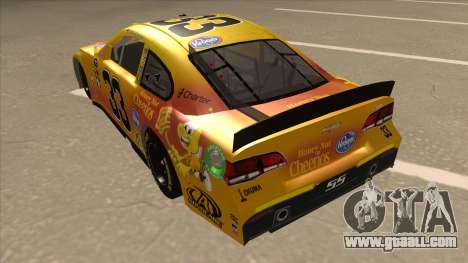 Chevrolet SS NASCAR No. 33 Cheerios for GTA San Andreas back view