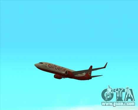 Boeing 737-800 for GTA San Andreas right view