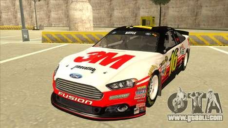 Ford Fusion NASCAR No. 16 3M Bondo for GTA San Andreas