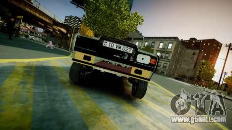 VAZ 2107 for GTA 4 back left view
