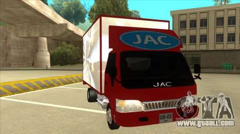 JAC 1040 for GTA San Andreas left view