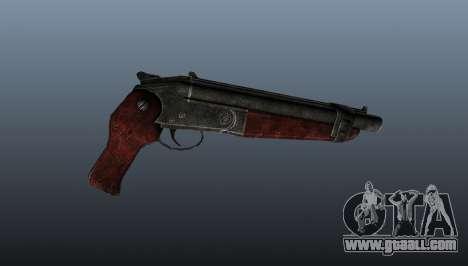 Sawed-off shotgun v2 for GTA 4 third screenshot