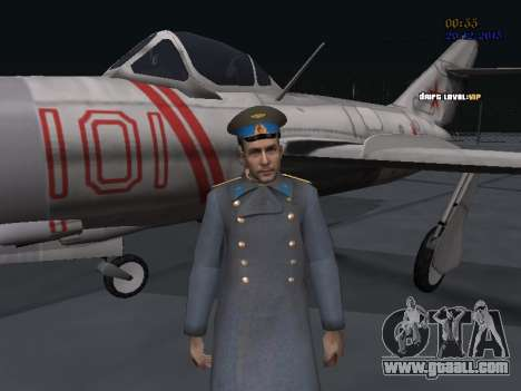 Colonel General of the Soviet air force for GTA San Andreas