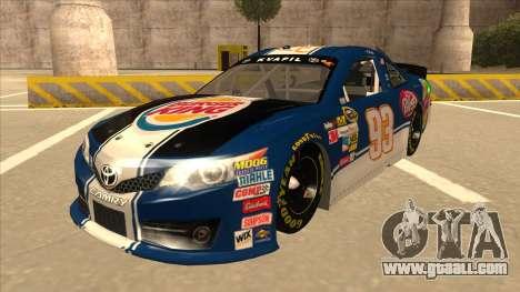 Toyota Camry NASCAR No. 93 Burger King Dr Pepper for GTA San Andreas