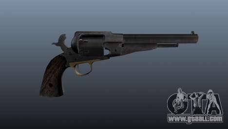 Remington revolver v2 for GTA 4 third screenshot