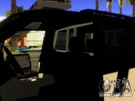 Ford Explorer 2010 Police Interceptor for GTA San Andreas side view