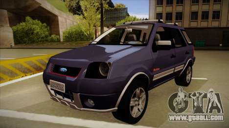 Ford Ecosport FreeStyle 2007 for GTA San Andreas