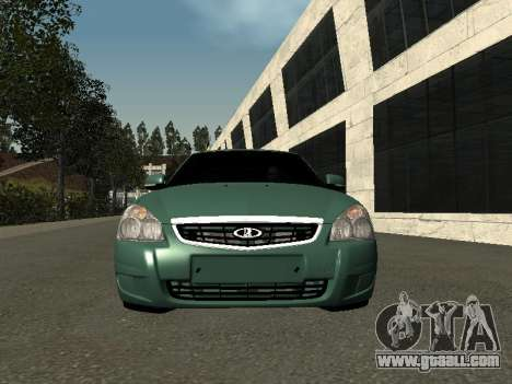 VAZ-2172 for GTA San Andreas back view