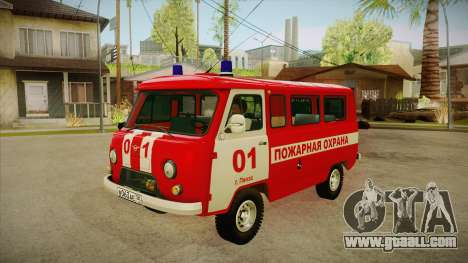 UAZ 452 Fire headquarters for GTA San Andreas