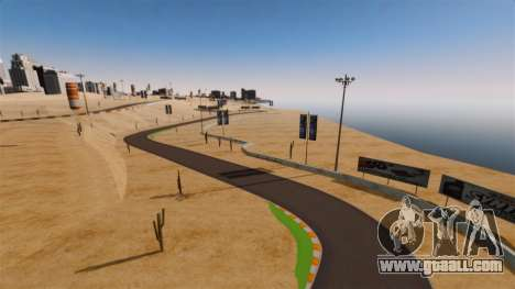 Location DesertDrift ProStreetStyle for GTA 4 fifth screenshot
