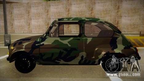 Zastava 750 Camo for GTA San Andreas back left view