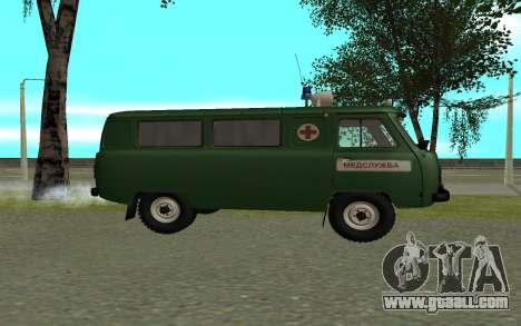 UAZ 452 ambulance for GTA San Andreas left view