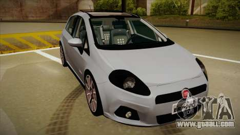 FIAT Punto T-Jet 2009 for GTA San Andreas left view