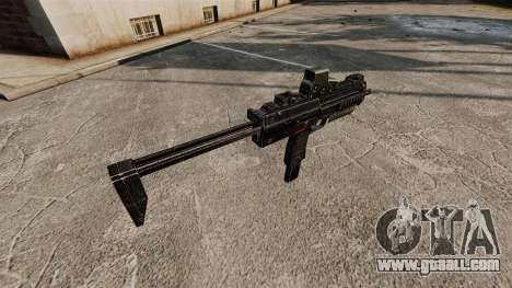 HK MP7 submachine gun v2 for GTA 4 forth screenshot