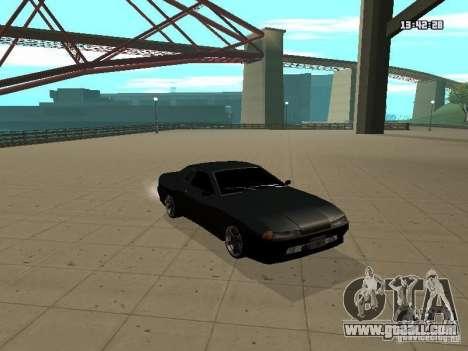 Elegy for GTA San Andreas back view