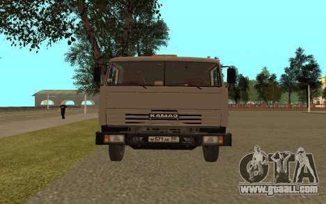 KAMAZ Lorries 53115 for GTA San Andreas right view