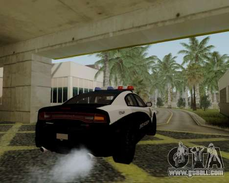 Dodge Charger 2012 Police IVF for GTA San Andreas left view