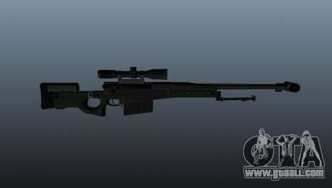 AW50F sniper rifle for GTA 4 third screenshot