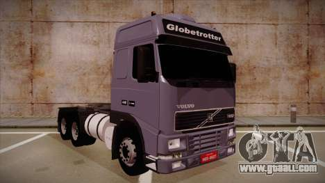 Volvo FH12 Globetrotter for GTA San Andreas left view