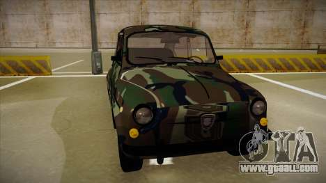 Zastava 750 Camo for GTA San Andreas left view