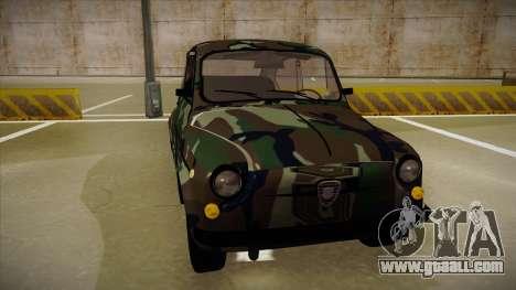 Zastava 750 Camo for GTA San Andreas left view