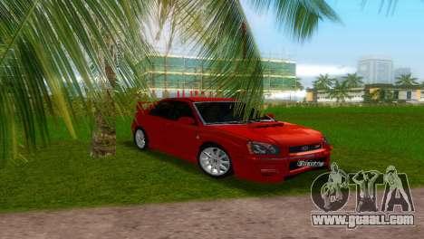 Subaru Impreza WRX STi for GTA Vice City right view