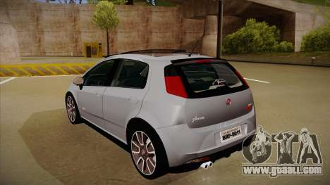 FIAT Punto T-Jet 2009 for GTA San Andreas right view