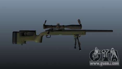 Sniper rifle M40A3 for GTA 4 third screenshot