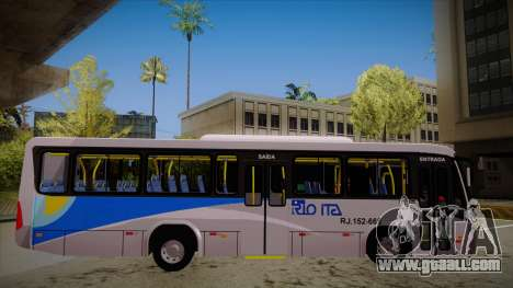 Marcopolo Senior Midi MB OF 1418 Rio Ita for GTA San Andreas back left view