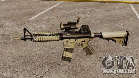 Automatic carbine M4 CQBR v1 for GTA 4 third screenshot