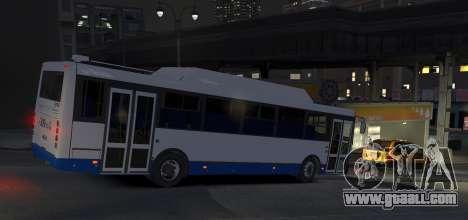 LIAZ 5256.57-01 2013 for GTA 4 back left view