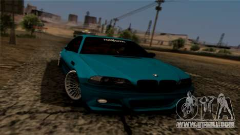 BMW M3 E46 for GTA San Andreas right view