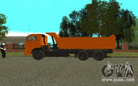 KAMAZ 6520 for GTA San Andreas left view