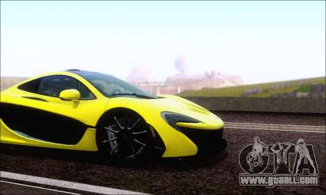 McLaren P1 EPM for GTA San Andreas left view