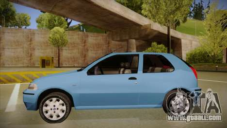 FIAT Palio EX 2003 for GTA San Andreas back left view