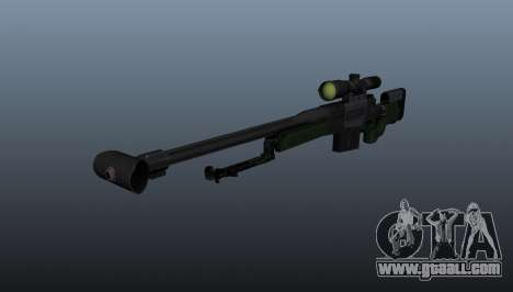 AW50F sniper rifle for GTA 4