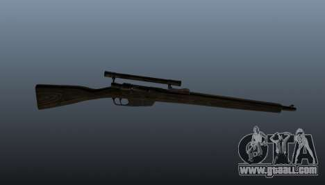Carcano sniper rifle for GTA 4 third screenshot