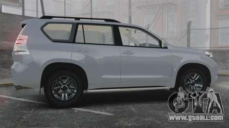 Toyota Land Cruiser Prado 150 for GTA 4 left view