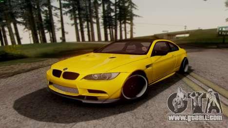 BMW M3 E92 Hamann for GTA San Andreas