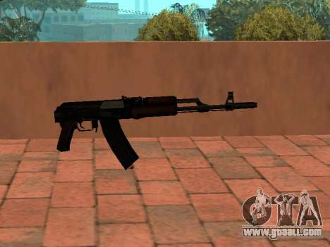 AK-74 Buttstock for GTA San Andreas