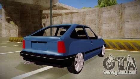Chevrolet Kadett for GTA San Andreas right view