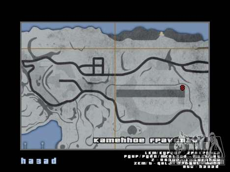 Map in the style of GTA 5 for GTA San Andreas sixth screenshot