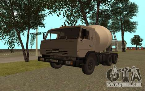 KAMAZ Lorries 53115 for GTA San Andreas