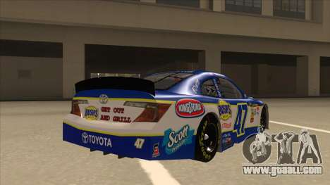 Toyota Camry NASCAR No. 47 Bushs Beans for GTA San Andreas right view