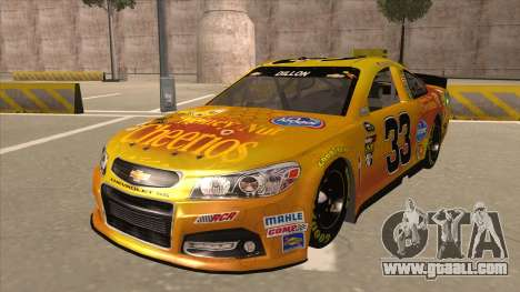 Chevrolet SS NASCAR No. 33 Cheerios for GTA San Andreas